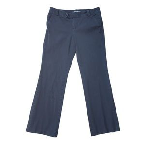 Eddie Bauer navy blue cotton relaxed chino pants
